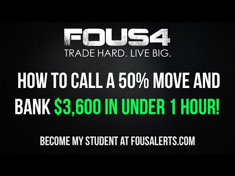 How To make $3,600 in 60 Minutes Day Trading