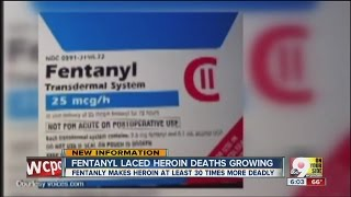 Fentanyl-laced heroin deaths on the rise