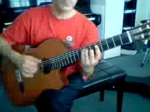 Rafael Hernandez's Preciosa solo guiitar in A minor