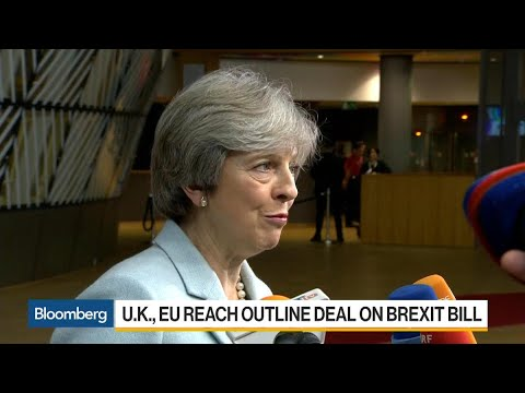 U.K., EU Reach Outline Deal on Brexit Divorce Bill