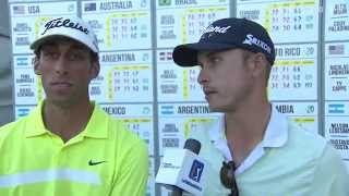 Round 3 Interview Robert Rohanna- Daniel Mazziotta, Bridgestone America´s Golf Cup (English)
