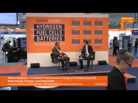 Commercialising stationary fuel cells in Europe: A study by the FCH JU