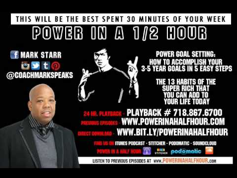 Power in A Half Hour - Episode 1 - Habits of The Super Rich