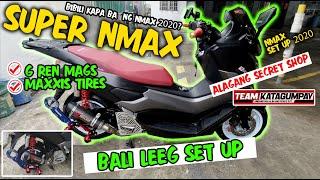 SUPER NMAX BEAST BEAUTY SET UP BY SECRET SHOP I BALI LEEG SET UP 2020 I BIBILI KAPA BA NG NMAX 2020?