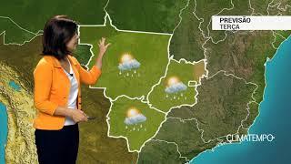 Previsão Centro-Oeste – Pancadas de chuva bem isoladas