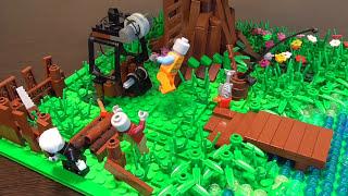 Убежище - Домик на дереве (Лего самоделка)