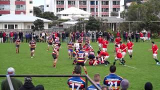 2014 Paul Potiki Shield Final - Marist St Pats Blues vs Tawa Titans