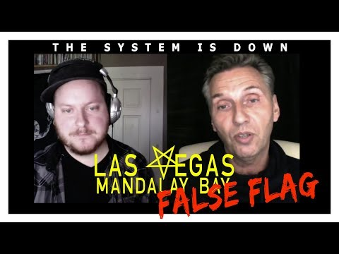 Ole Dammegard Exposes the Las Vegas Mandalay Bay Shooting False Flag: The System is Down