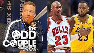 You Can Make An Argument For LeBron as the GOAT - Chris Broussard