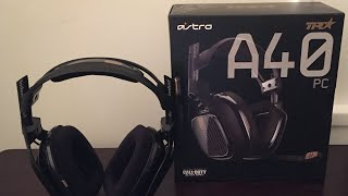Astro A40 TR PC Unboxing & Review