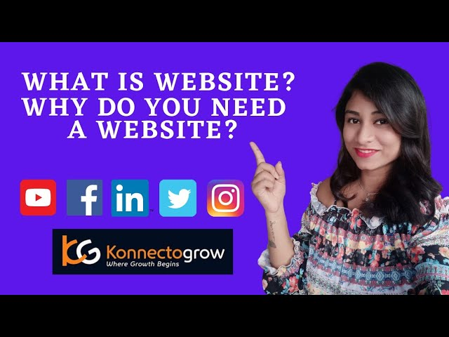 What is website? And why do you need a website?