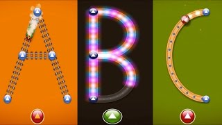Sing ABC and Learn to write Letter from A to Z How To writing Alphabet Game LetterSchool
