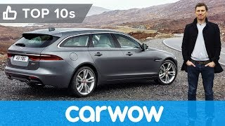 Jaguar XF Sportbrake 2018 - better than a Mercedes E-Class Estate? | Top10s