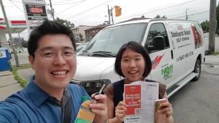 크리스&티나 #8 한국식당, 카고밴, IKEA