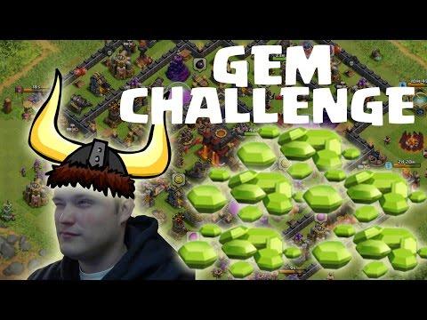 [facecam] GEM CHALLENGE! || CLASH OF CLANS || Let's Play CoC [Deutsch/German HD]
