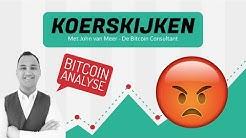 😡 Bitcoin Analyse: 'BTC koers ziet er bearish uit. Prijs naar $8.900 door neerwaartse driehoek?'