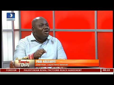 Chairman Lagos Ferry Services Disagrees With NIWA Over Appeal Court Judgement Pt.2 |Sunrise Daily|