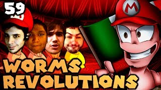 Smarty and Chilled Get Married (Worms Revolution: The Derp Crew - Part 59)