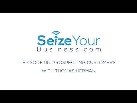 96: Prospecting for  Customers (Thomas Herman)