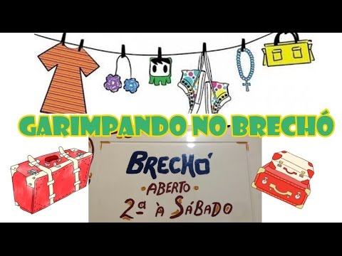 162b726b0e7 GARIMPANDO NO BRECHÓ DA DANNY  erikamitietododia24 - YouTube