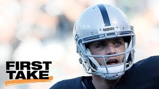 First Take Crew Has Shouting Match Over Derek Carr