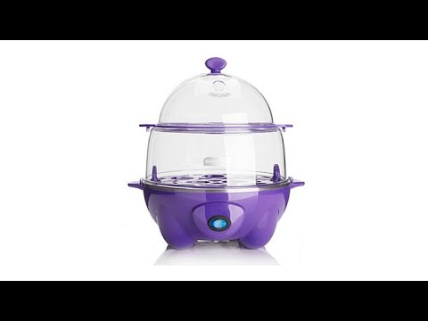 DASH Deluxe Egg Cooker with BowandGo Pack