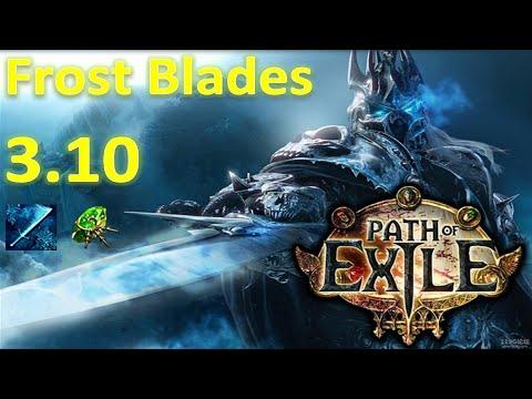 Path of Exile Frost Blades Build (Destroy End Game) - PoE Delirium