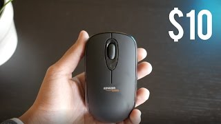 Can a $10 Wireless Mouse be any good? - AmazonBasics Wireless Mouse
