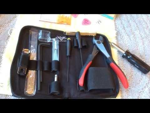 2014 Cruz Tools Fender Strat Tele Custom Shop Tool Kit Eddie Vegas www.eddievegas.com