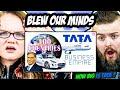 Irish Couple reacts to TATA'S Business Empire 100 Countries   Ratan Tata   How Big is Tata?