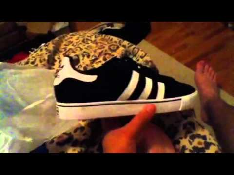 6560dd1c7a12 Adidas campus Vulc shoes - YouTube