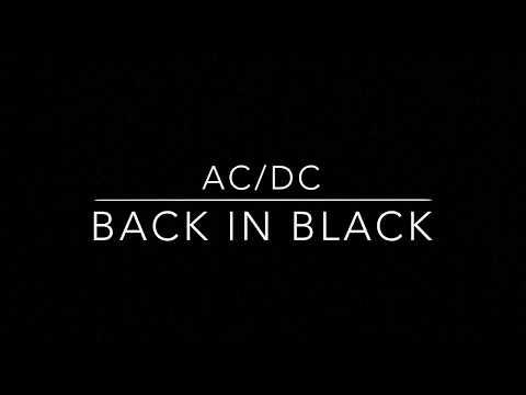 AC/DC - Back in Black # DRUMCOVER