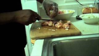 Chef Steve Wells Stuffed Boneless Chicken With Sweet Italian Sausage And Potato