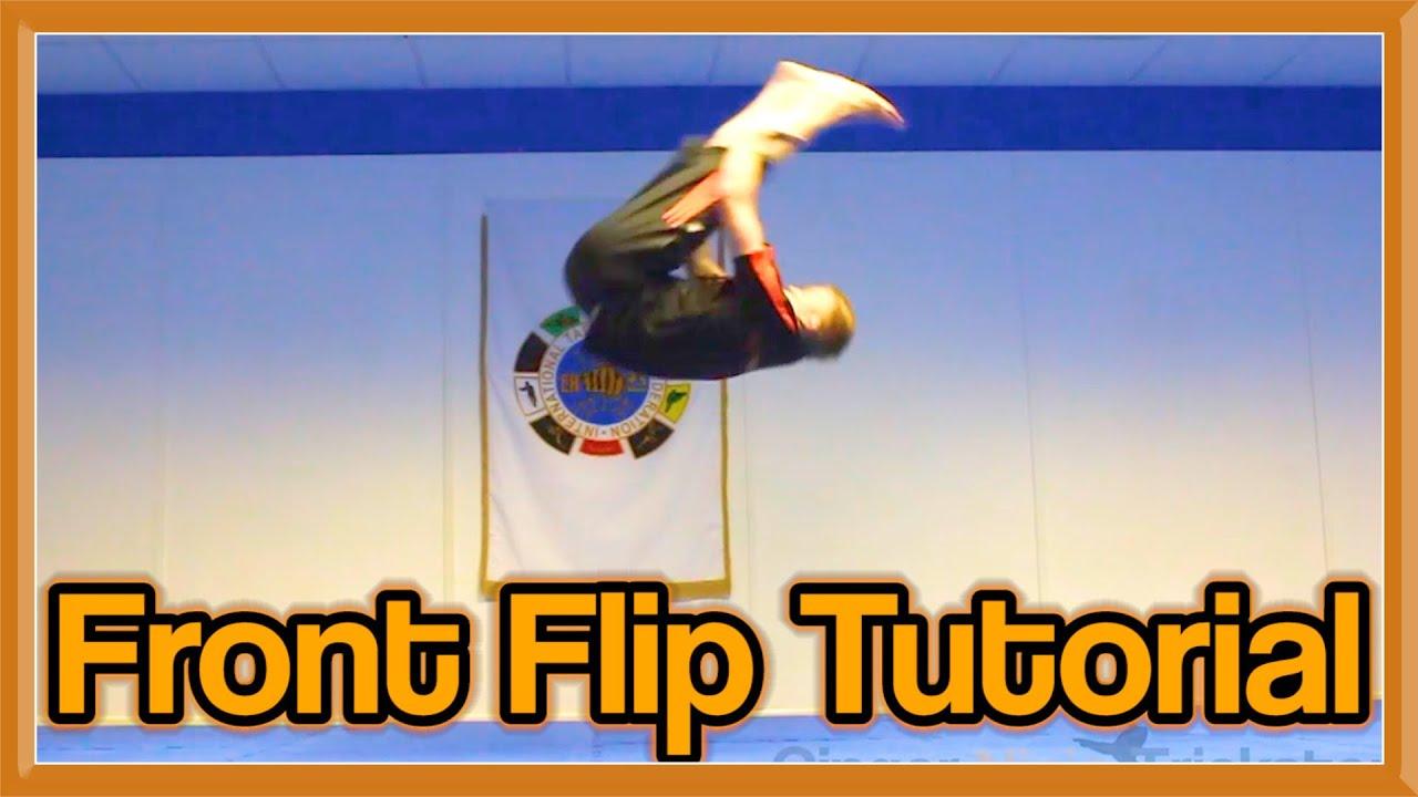 2cb30cbf7 Front Flip Tutorial