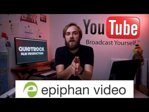 ВЫХОДИМ ОНЛАЙН КРАСИВО вместе с Epiphan Webcaster X2