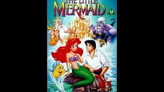 Digitized opening to The Little Mermaid (UK VHS – version 2)