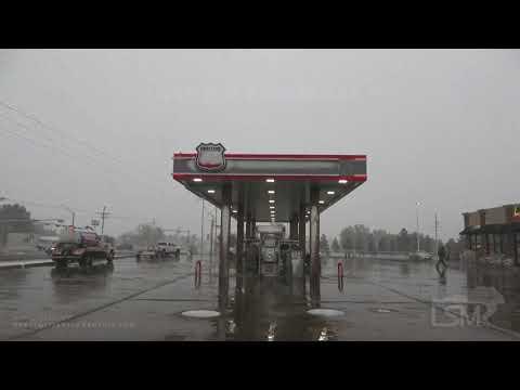 10-24-19, Thunder Snow, Amarillo TX
