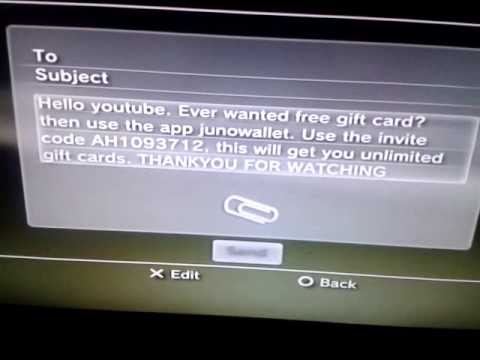 Gift card hack free!! - YouTube