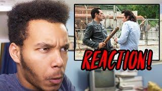 "Video The Walking Dead Season 7 Episode 11 ""Hostiles and Calamities"" REACTION! download MP3, 3GP, MP4, WEBM, AVI, FLV November 2017"