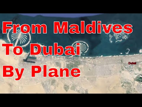 ✈ From Maldives To Dubai By Plane - Dubai View From Above ✈