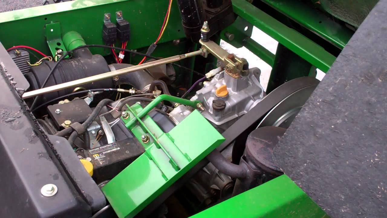 John Deere Gator >> John Deere Gator - Start Up - YouTube
