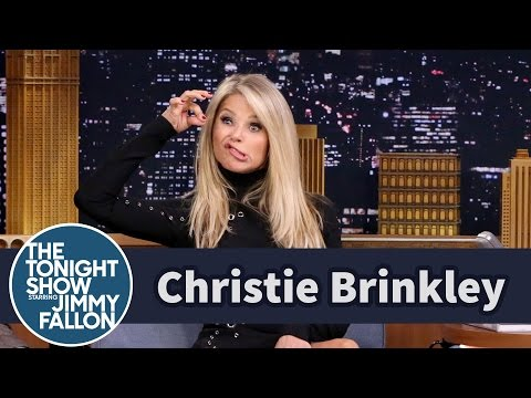 Christie Brinkley Shows Off Her Talented Lips