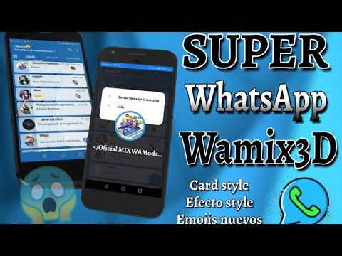 FUNCIONES Y CARACTERÍSTICAS DEL WAMIX3D