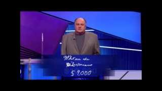 Jeopardy Reid gets the shaft twice