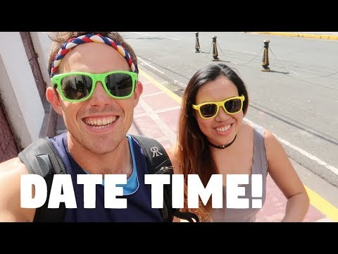 CANADIAN HAS UNIQUE DATE WITH FILIPINA GIRLFRIEND IN MANILA