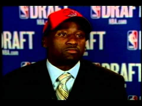 Felton WPDE Interview at 2005 NBA Draft