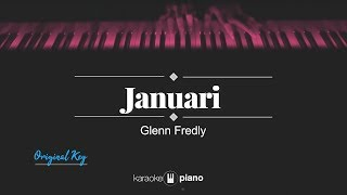 Januari (ORIGINAL KEY) Glenn Fredly (KARAOKE PIANO)