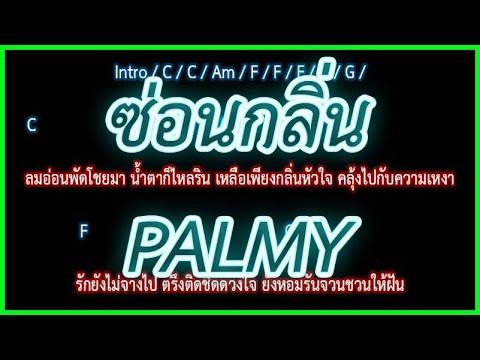 🎸คอร์ดเพลง🎸ซ่อน�ลิ่น  PALMY