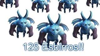 Ataque Con Todo Esbirros - 125 Esbirros !! | Clash Of Clans