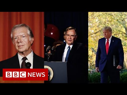 How others left the White House after losing - BBC News